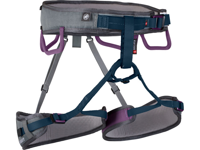 Mammut W's Ophir 3 Slide Harness titanium-dawn